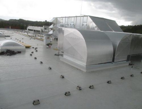 Energieeinsparung durch zentrale Lufttechnik